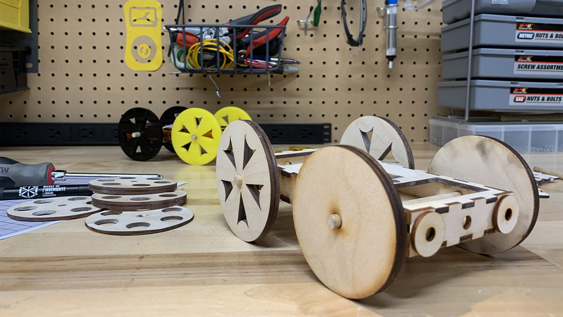 Activité scolaire : Sur les chapeaux de roues